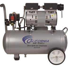 5510A Ultra Quiet 1 HP, 5.5 Gal. Aluminum Air Compressor