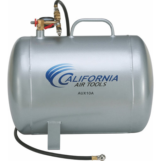 View a Larger Image of AUX10A 10-Gallon Lightweight Portable Air Tank, Aluminum
