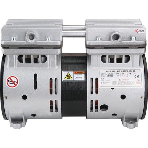 View a Larger Image of SP-9414 3/4 HP Ultra Quiet and Oil-Free Air Compressor Motor