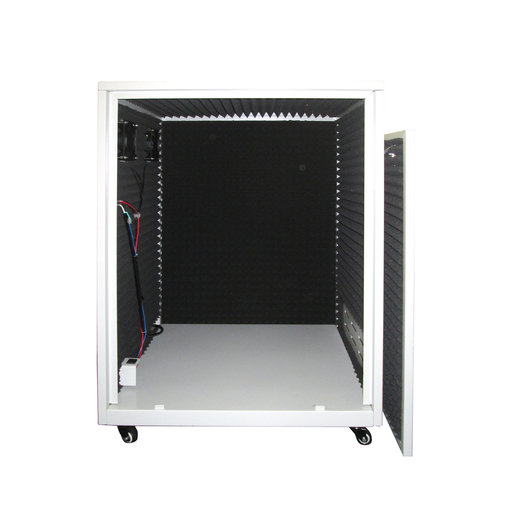 View a Larger Image of SPC03 Ultra Quiet Sound Proof Cabinet for Air Compressors