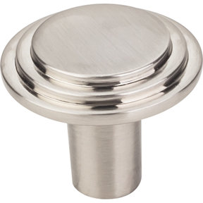 "Calloway Large Knob, 1-1/4"" Dia.,  Satin Nickel"