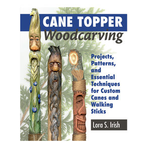 Cane Topper Wood Carving