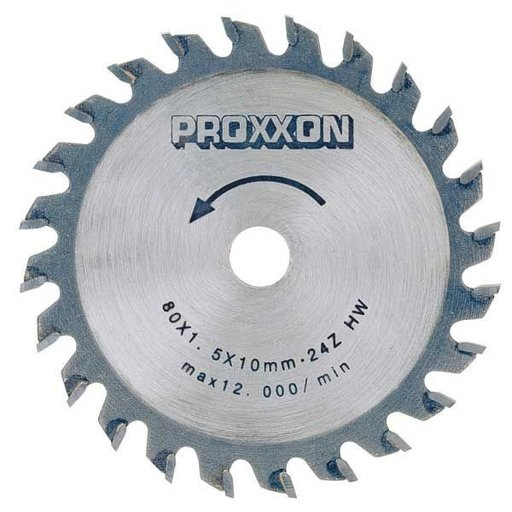 View a Larger Image of Carbide-Tipped Saw Blade for Proxxon FKS/E, FET & KGS 80, 24 teeth