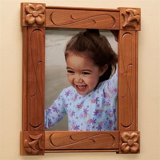 View a Larger Image of Carved Picture Frame - Downloadable Plan