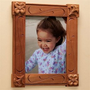 Carved Picture Frame - Downloadable Plan