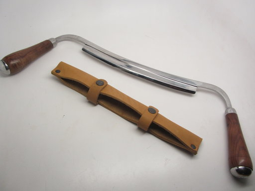 View a Larger Image of Carvers/Woodworkers 10 Draw Knife w/Sheath