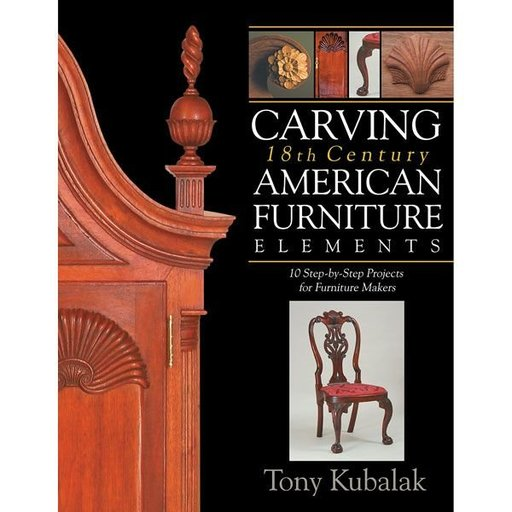 View a Larger Image of Carving 18th Century American Furniture Elements