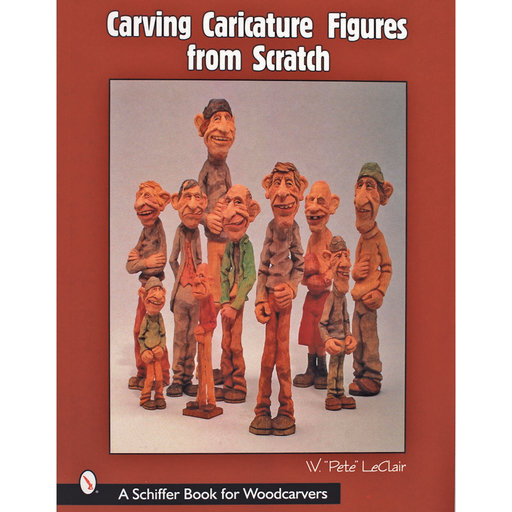 View a Larger Image of Carving Caricature Figures from Scratch
