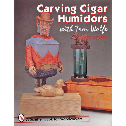 View a Larger Image of Carving Cigar Humidors with Tom Wolfe