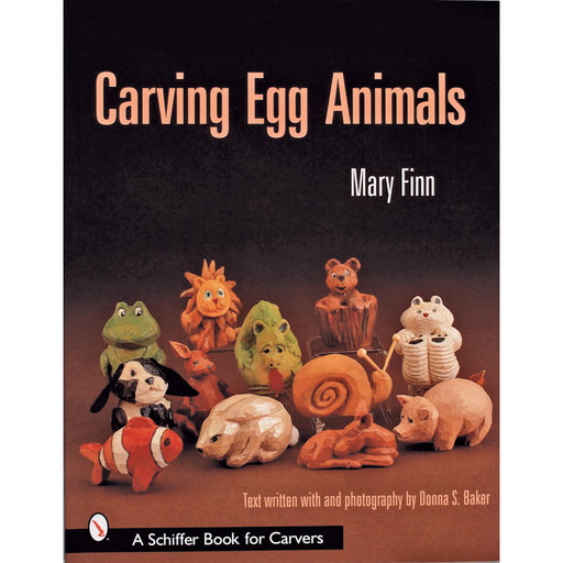 View a Larger Image of Carving Egg Animals