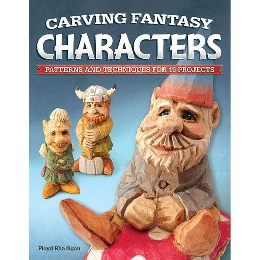 View a Larger Image of Carving Fantasy Characters