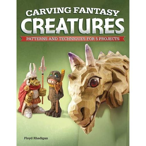 View a Larger Image of Carving Fantasy Creatures