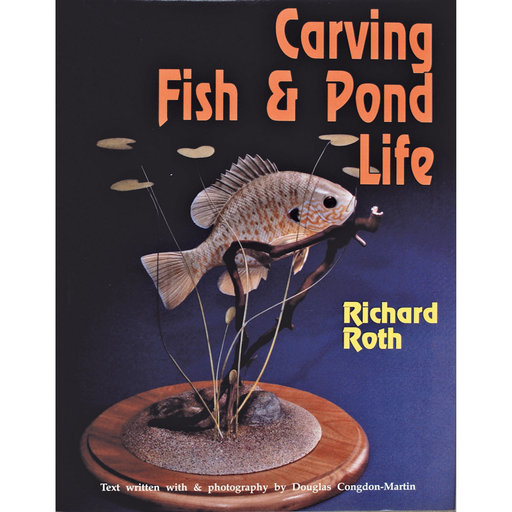 View a Larger Image of Carving Fish and Pond Life
