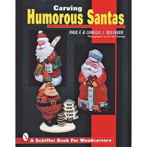 Carving Humorous Santas