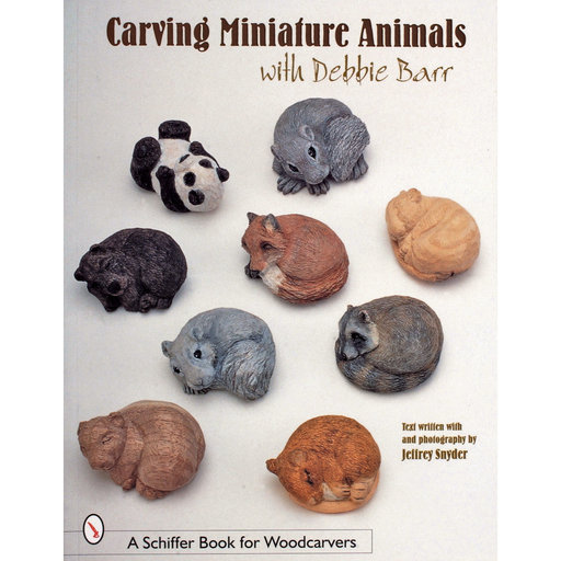 View a Larger Image of Carving Miniature Animals with Debbie Barr