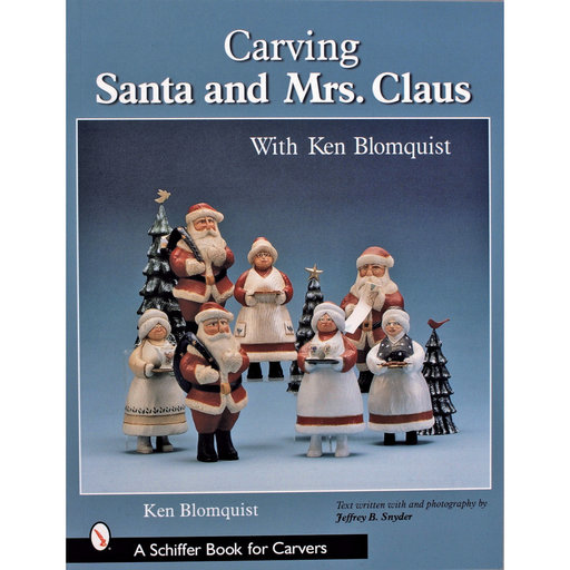 View a Larger Image of Carving Santa and Mrs. Claus