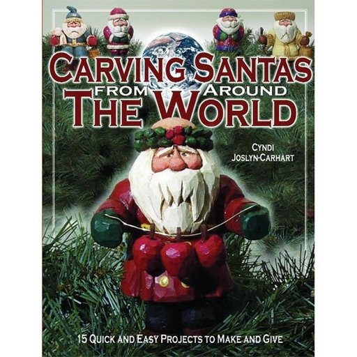 View a Larger Image of Carving Santas from Around The World