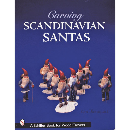 View a Larger Image of Carving Scandinavian Santas