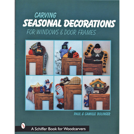 View a Larger Image of Carving Seasonal Decorations For Windows and Door Frames