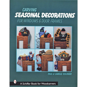 Carving Seasonal Decorations For Windows and Door Frames
