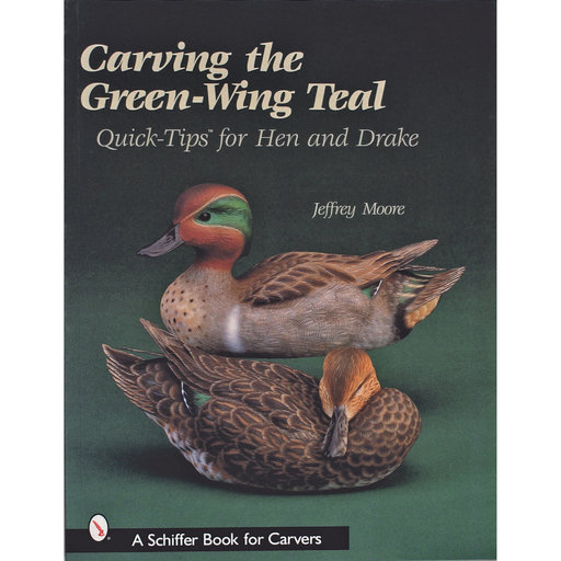 View a Larger Image of Carving the Green-Wing Teal