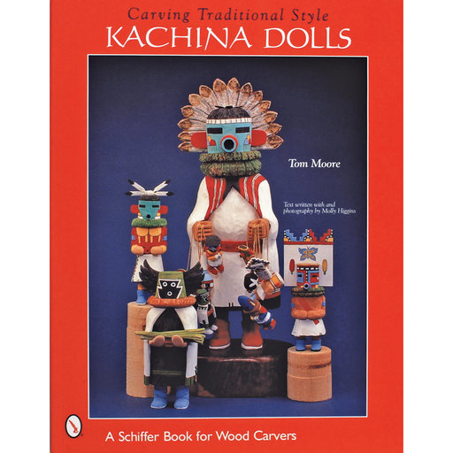 View a Larger Image of Carving Traditional Style Kachina Dolls