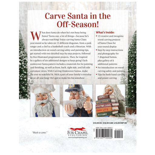 View a Larger Image of Carving Undercover Santas