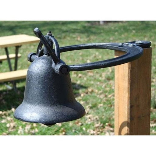 View a Larger Image of Cast Iron Farm Bell