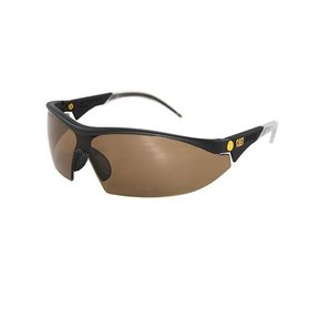 Digger Safety Glasses with Brown Lenses and Brow Guard