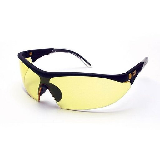 View a Larger Image of Digger Safety Glasses with Yellow Lenses and Brow Guard