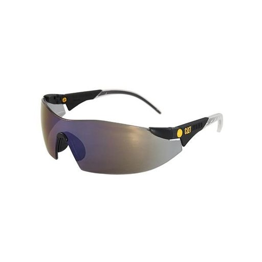View a Larger Image of Dozer Safety Glasses with Blue Lenses