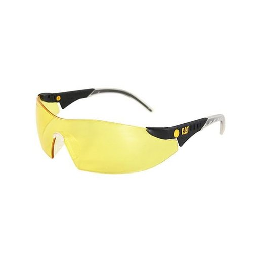 View a Larger Image of Dozer Safety Glasses with Yellow Lenses