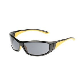Grit Safety Glasses with Smoke Lenses