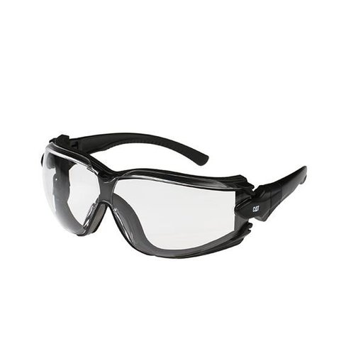 View a Larger Image of Torque Safety Glasses with Clear Lenses and Strap