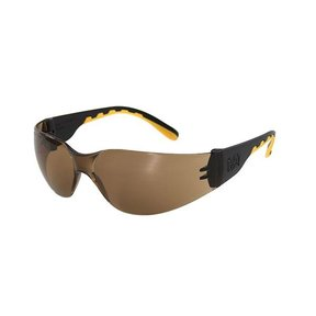 Track Safety Glasses with Brown Lenses