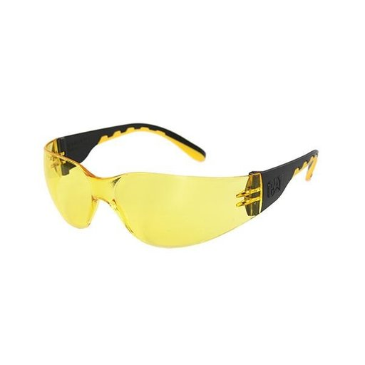 View a Larger Image of Track Safety Glasses with Yellow Lenses