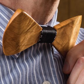 Celebrate in Style Wooden Bow Tie Downloadable Plan
