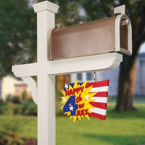 View a Larger Image of Celebration Mailbox Signs - Downloadable Plan