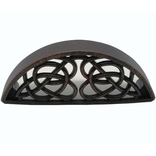 View a Larger Image of Celtic Cup Pull, Oil Rubbed Bronze