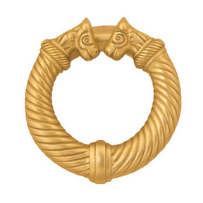 Celtic Torc Door Knocker - Brass