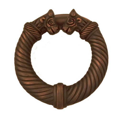 View a Larger Image of Celtic Torc Door Knocker - Oiled Bronze