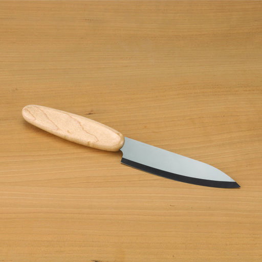 "View a Larger Image of Ceramic 4"" Chef Knife Blank Black"