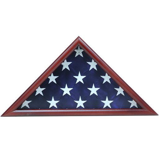View a Larger Image of Ceremonial Flag Case, Cherry