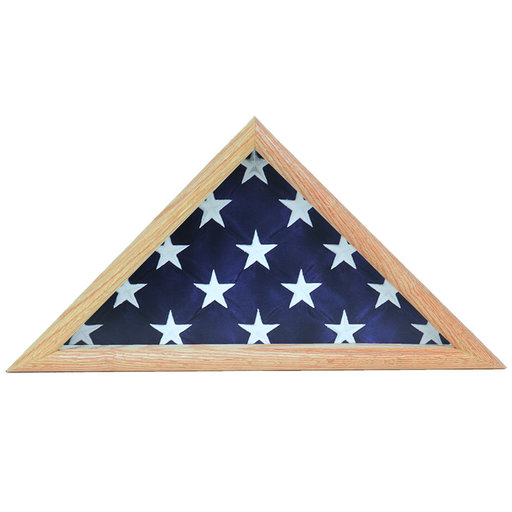 View a Larger Image of Ceremonial Flag Case, Oak