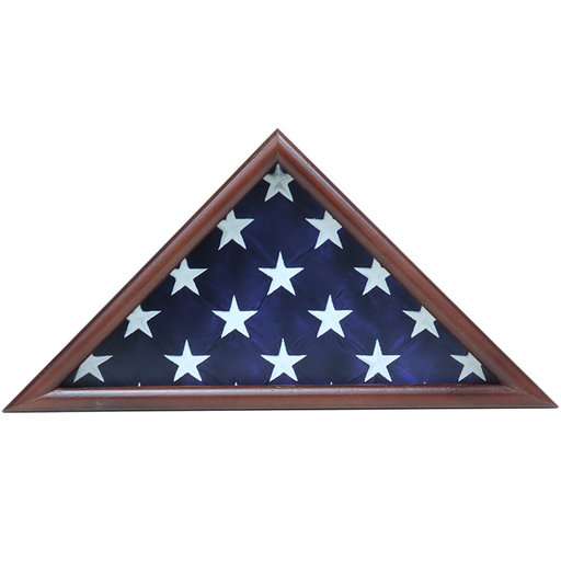 View a Larger Image of Ceremonial Flag Case, Walnut
