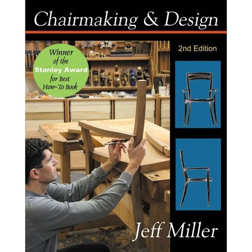 View a Larger Image of Chairmaking & Design 2nd Edition
