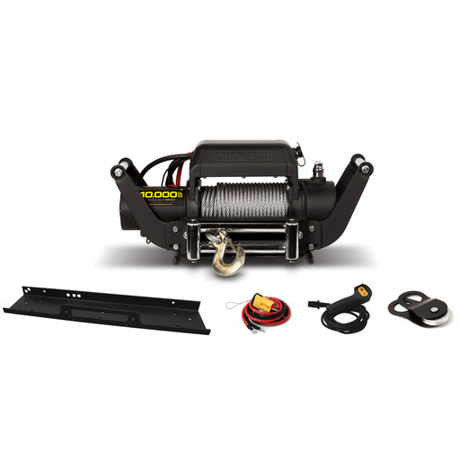 View a Larger Image of Champion 10000 lb Truck / SUV Winch Kit, Model 11006