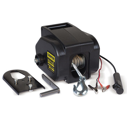 View a Larger Image of Champion 2000 lb Utitlity Winch Kit
