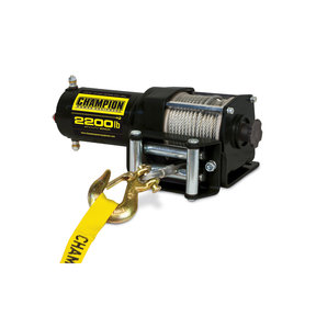 Champion 2200 lb. ATV/UTV Winch Kit, Model 100127