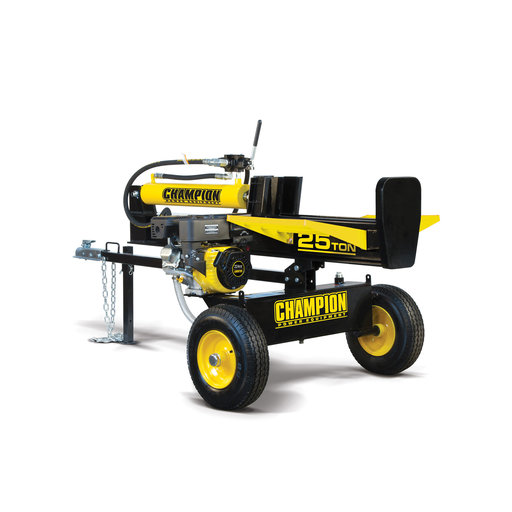 View a Larger Image of Champion 25 Ton Hydraulic Log Splitter, CARB